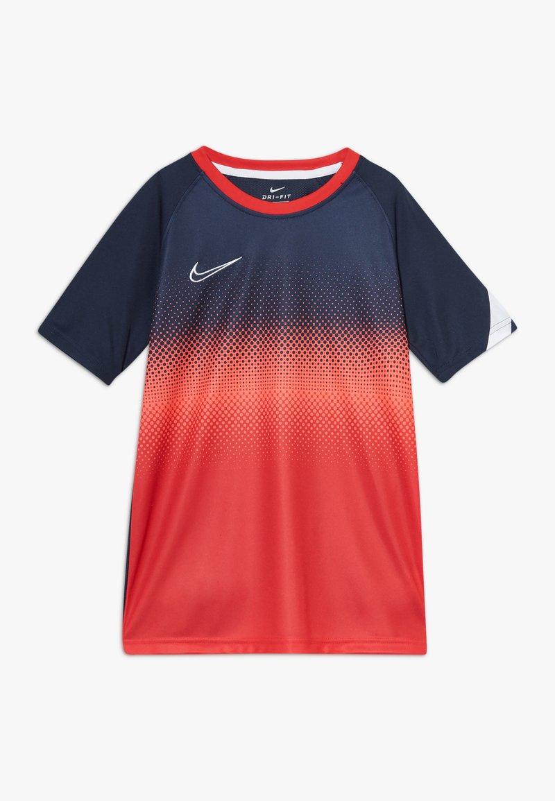 Nike Performance - DRY ACADEMY  - Funkční triko - obsidian/white