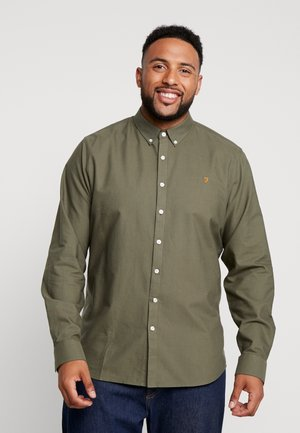 BIG AND TALL BREWER SLIM  - Overhemd - military green