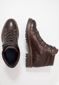 Giorgio 1958 - Lace-up ankle boots - frida testa di moro - 1