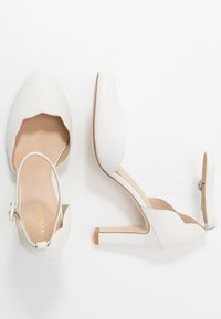 Anna Field - LEATHER PUMPS - Hoge hakken - white - 3