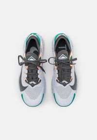 Nike Performance - PEGASUS TRAIL 2 - Løpesko for mark - football grey/iron grey/crimson tint/neptune green - 3