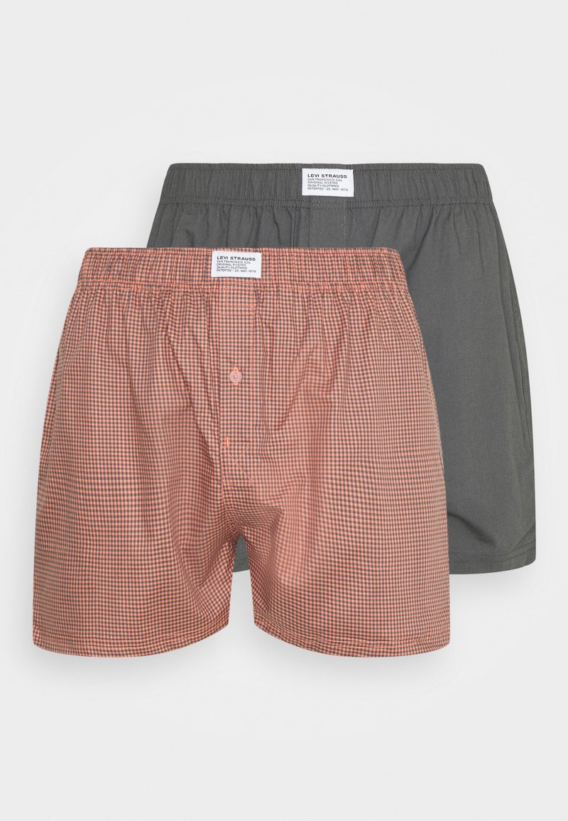 Levi's® - MEN GINGHAM CHECK 2 PACK - Boxer shorts - red