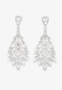 Pieces - Ohrringe - silver-coloured - 3