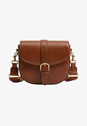 Across body bag - marrón medio