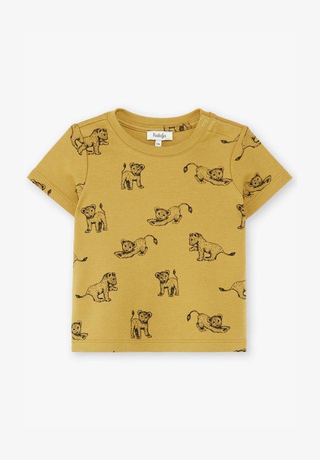 T-shirt print - bronze