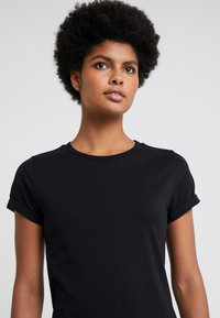 HUGO - THE PLAIN TEE - Basic T-shirt - black - 3