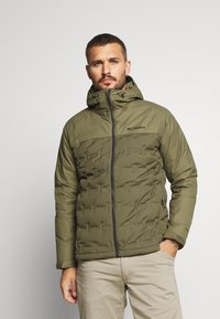 Columbia - GRAND TREK JACKET - Down jacket - stone green - 0