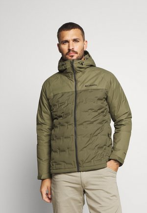 GRAND TREK JACKET - Daunenjacke - stone green