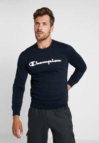 Champion - CREWNECK  - Mikina - dark blue - 0