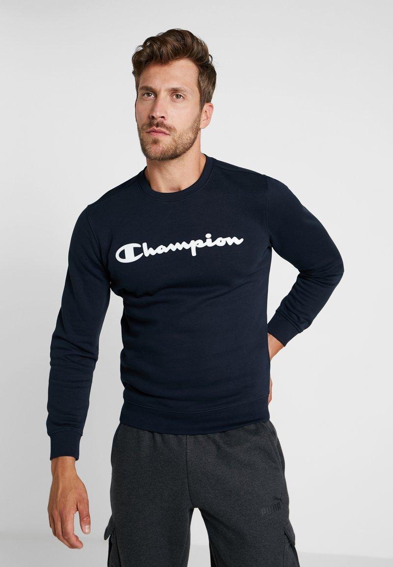 Champion - CREWNECK  - Mikina - dark blue