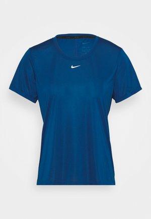 ONE - T-shirt basic - court blue/white