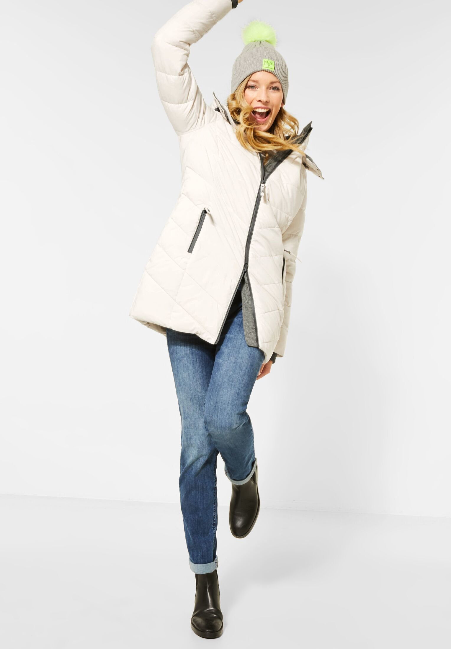 Witte Lange winterjassen dames online kopen | Gratis