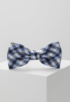 CHECK BOWTIE - Bow tie - blue