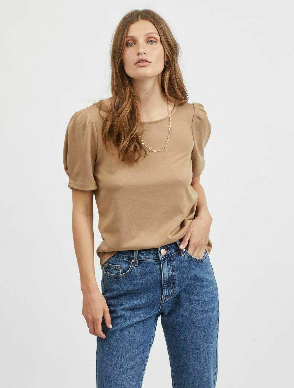 Damen VITINNY O NECK PUFF - T-Shirt basic