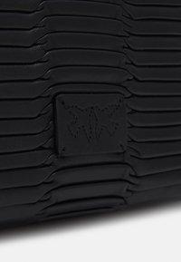 Pinko - LOVE MINI ORIGAMI - Across body bag - black - 3