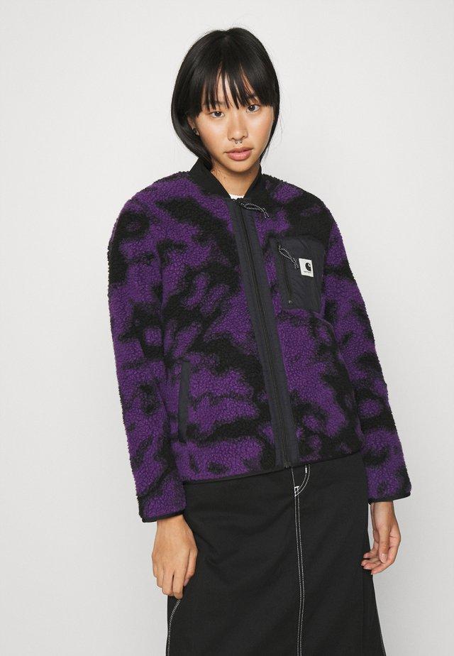 JANET LINER - Winter jacket - blur/purple