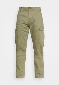 CASEY - Cargo trousers - lone tree green