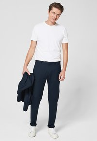 s.Oliver BLACK LABEL - Pantaloni - blue - 1
