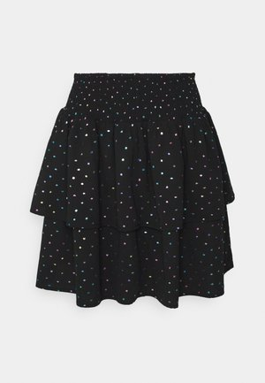 ELISSE - Mini skirt - black
