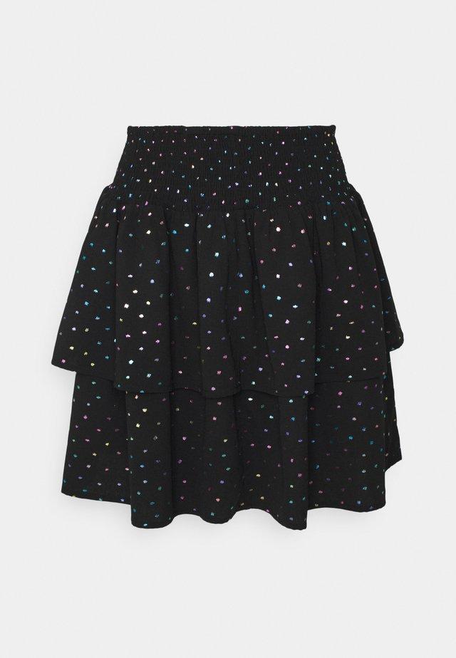 ELISSE - Mini skirt - black