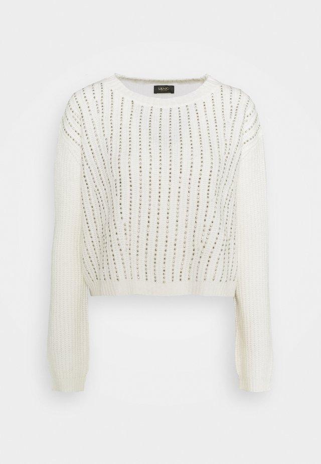 Pullover - star white