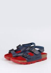 Genuins - KINDU VACHETTA - Sandals - navy - 2