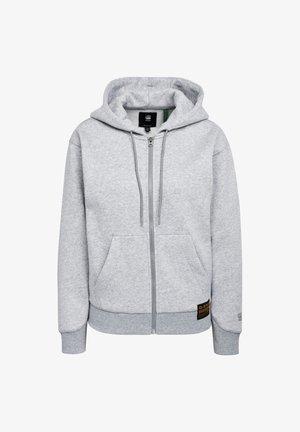 PREMIUM CORE HOODED ZIP THRU LONG SLEEVE - Zip-up hoodie - grey htr