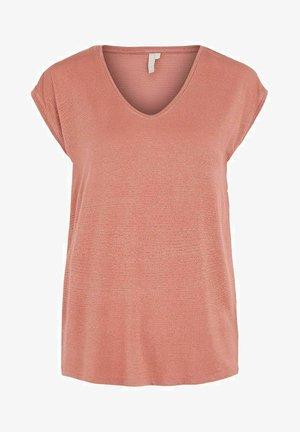 Basic T-shirt - canyon rose