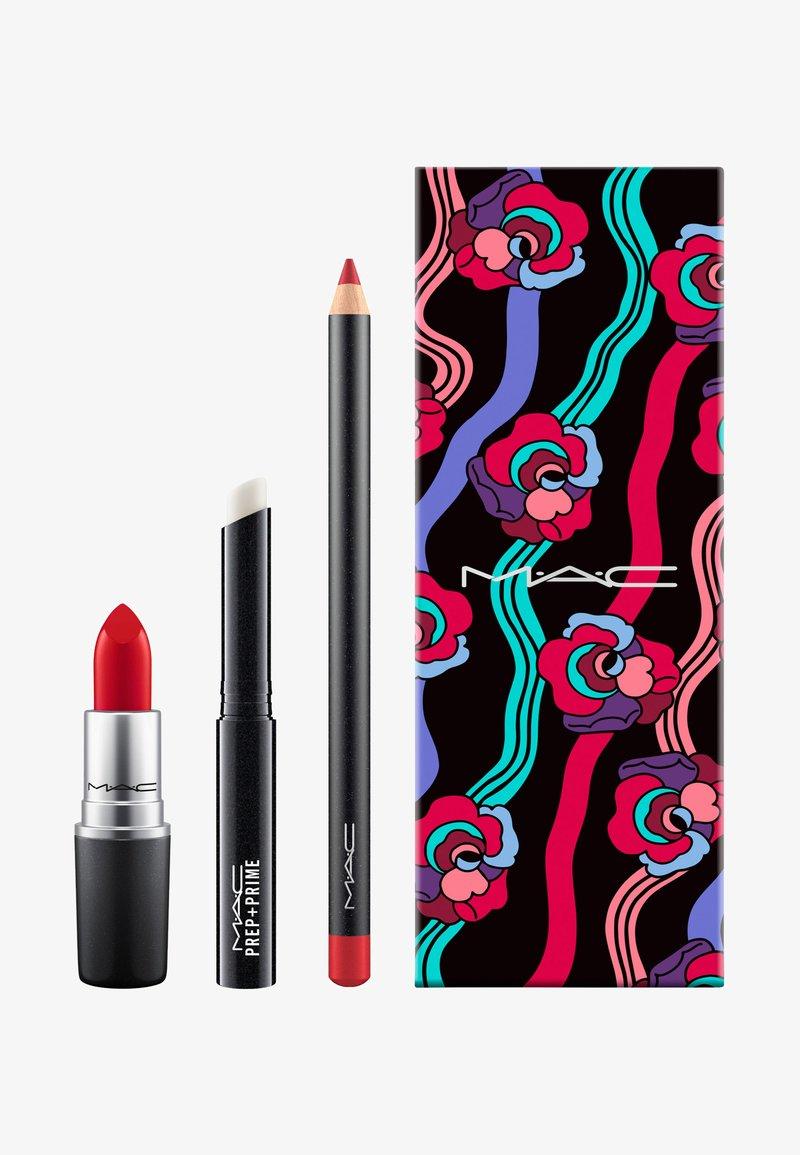 MAC - RED LIP KIT - Make-up Set - -
