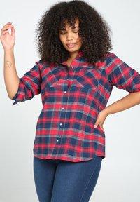 Paprika - Button-down blouse - red - 3