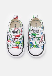 Converse - CHUCK TAYLOR ALL STAR DIGITAL DINOVERSE UNISEX - Trainers - white/green/university red - 3