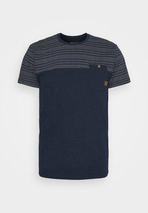 FOSTER - T-shirt imprimé - navy