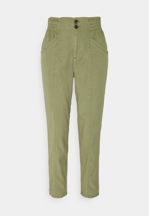 RUFFLE - Trousers - light khaki