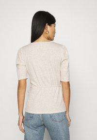 GAP - WRAP - T-shirts - oatmeal heather - 2