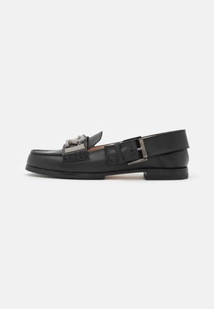 LOAFER - Slip-ons - black