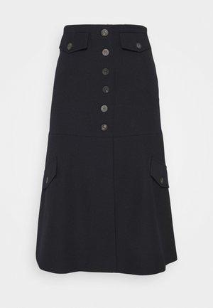 UTILITY FLARE SKIRT - A-line skirt - navy