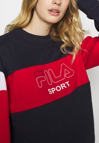Fila - LANA - Bluza - black iris/true red/bright white - 4