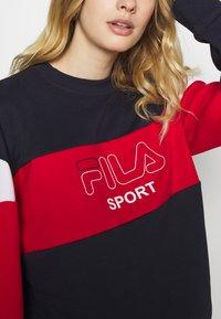 Fila - LANA - Felpa - black iris/true red/bright white - 4