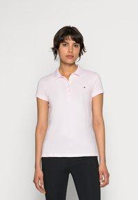 Tommy Hilfiger - HERITAGE SHORT SLEEVE - Polo shirt - cradle pink - 0