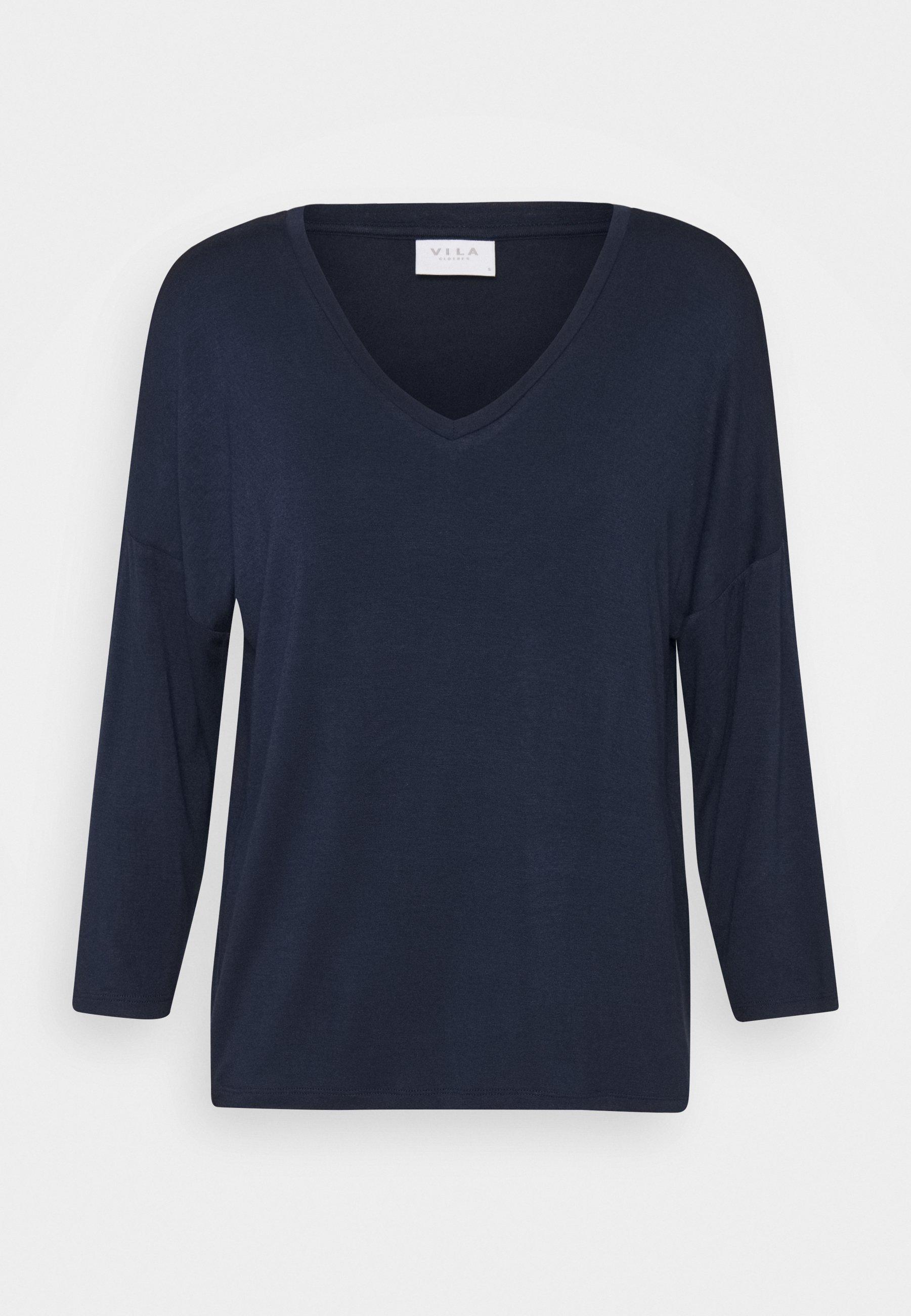 Women VIAMELLIA V NECK - Long sleeved top