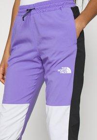 The North Face - PANT - Tracksuit bottoms - pop purple - 4