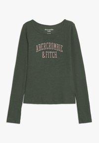 Abercrombie & Fitch - LOGO COZY  - Longsleeve - green - 0