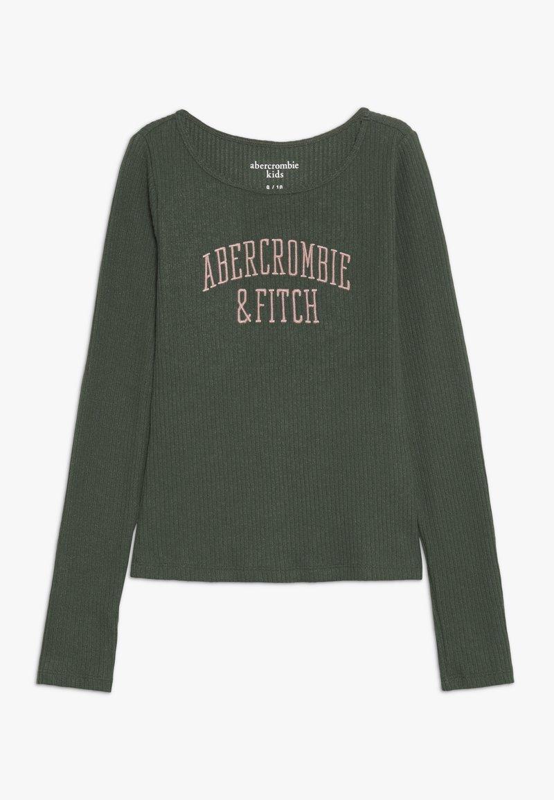 Abercrombie & Fitch - LOGO COZY  - Longsleeve - green
