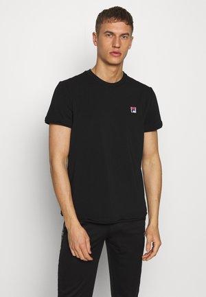 JONAS - Basic T-shirt - black