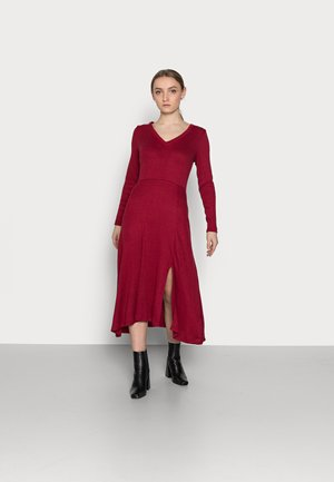VNECK COZY - Pullover - mulled cranberry