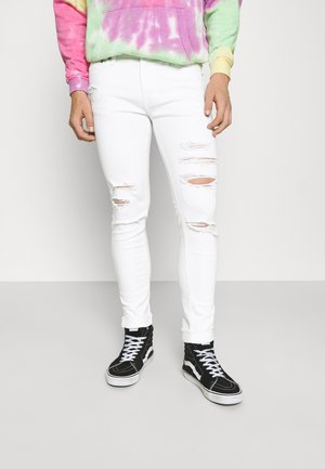 JJILIAM JJORIGINAL - Jeans Skinny Fit - white