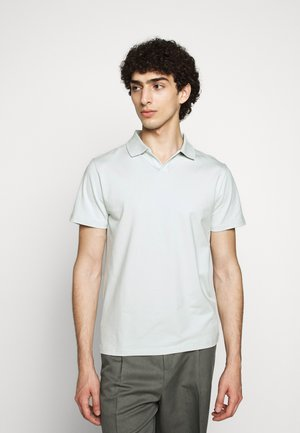 Polo shirt - faded aqua