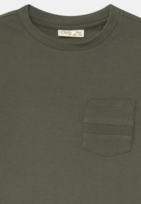 OVS - 2 PACK - Long sleeved top - grey/oliv - 3