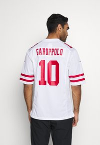 Nike Performance - NFL SAN FRANCISCO JIMMY GAROPPOLONIKE GAME ROAD - Club wear - white - 2
