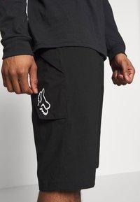 Fox Racing - RANGER UTILITY SHORT 2-IN-1 - Sports shorts - black - 3